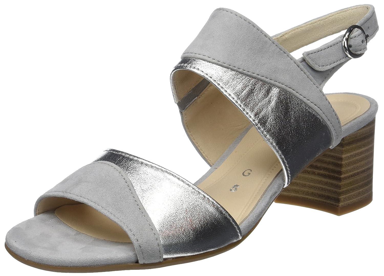 Gabor Shoes Comfort Fashion, Sandales Bride Cheville (Light Femme 40 EU Gris (Light Cheville Grey) 4a40e9
