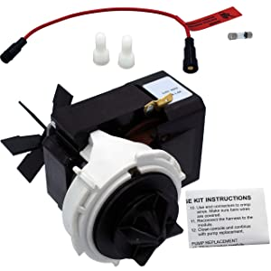 Supplying Demand 479595 Dishwasher Drain Pump and Fuse Compatible With Fisher & Paykel Fits 420325P 479585