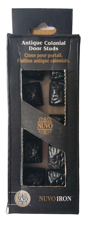 Nuvo Iron Black Antique Look Colonial Door Studs (10 pcs per pack) Amazon.com Industrial u0026 Scientific  sc 1 st  Amazon.com & Nuvo Iron Black Antique Look Colonial Door Studs (10 pcs per pack ... pezcame.com