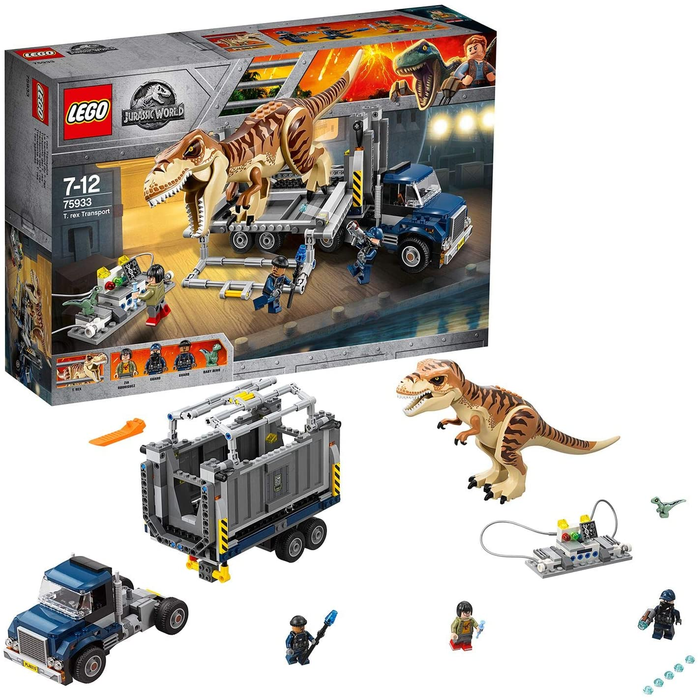LEGO Jurassic World T Rex Transport 75933