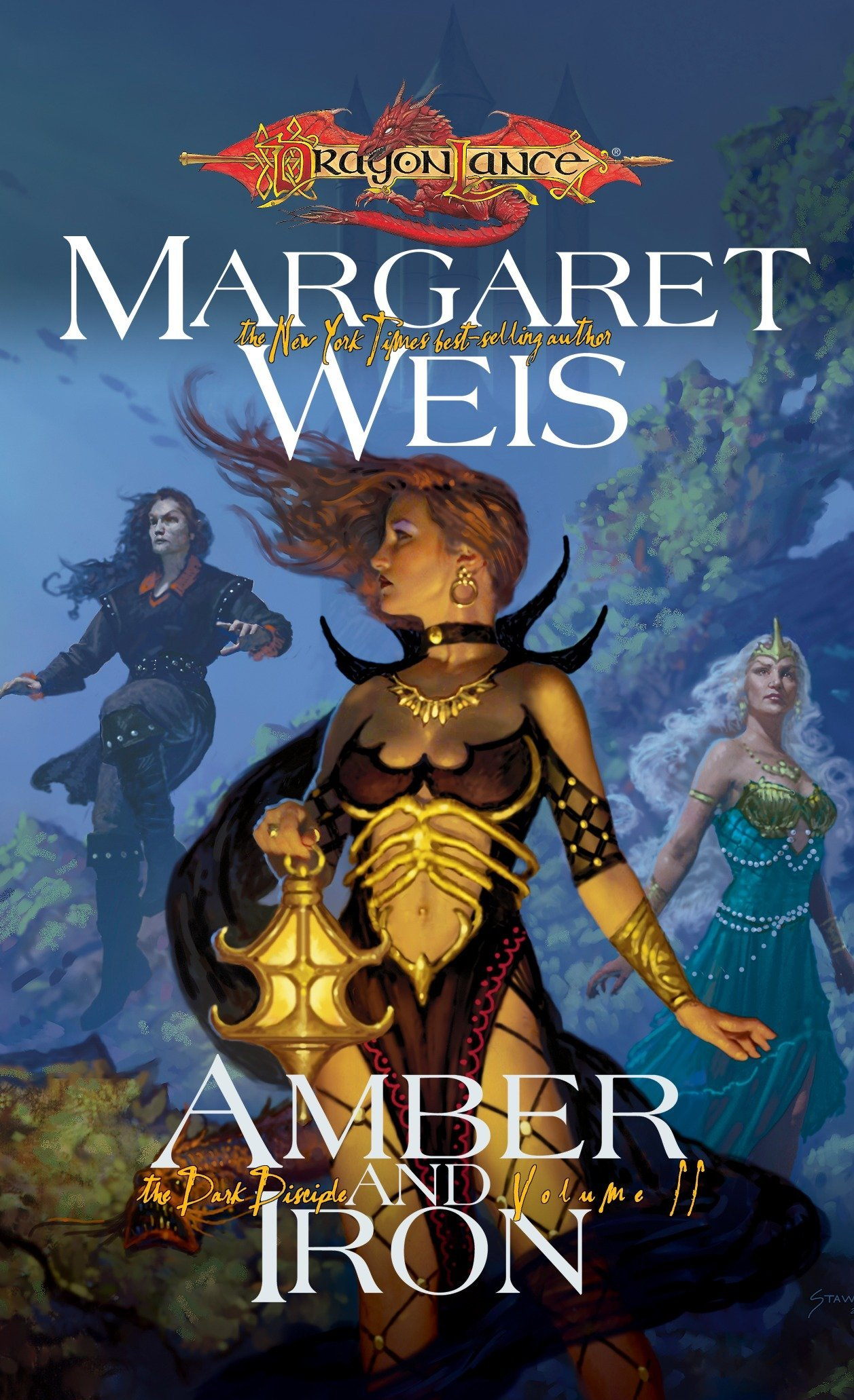 Amazon.com: Amber and Iron (Dragonlance: The Dark Disciple, Vol. 2) (v. 2)  (9780786940868): Margaret Weis: Books