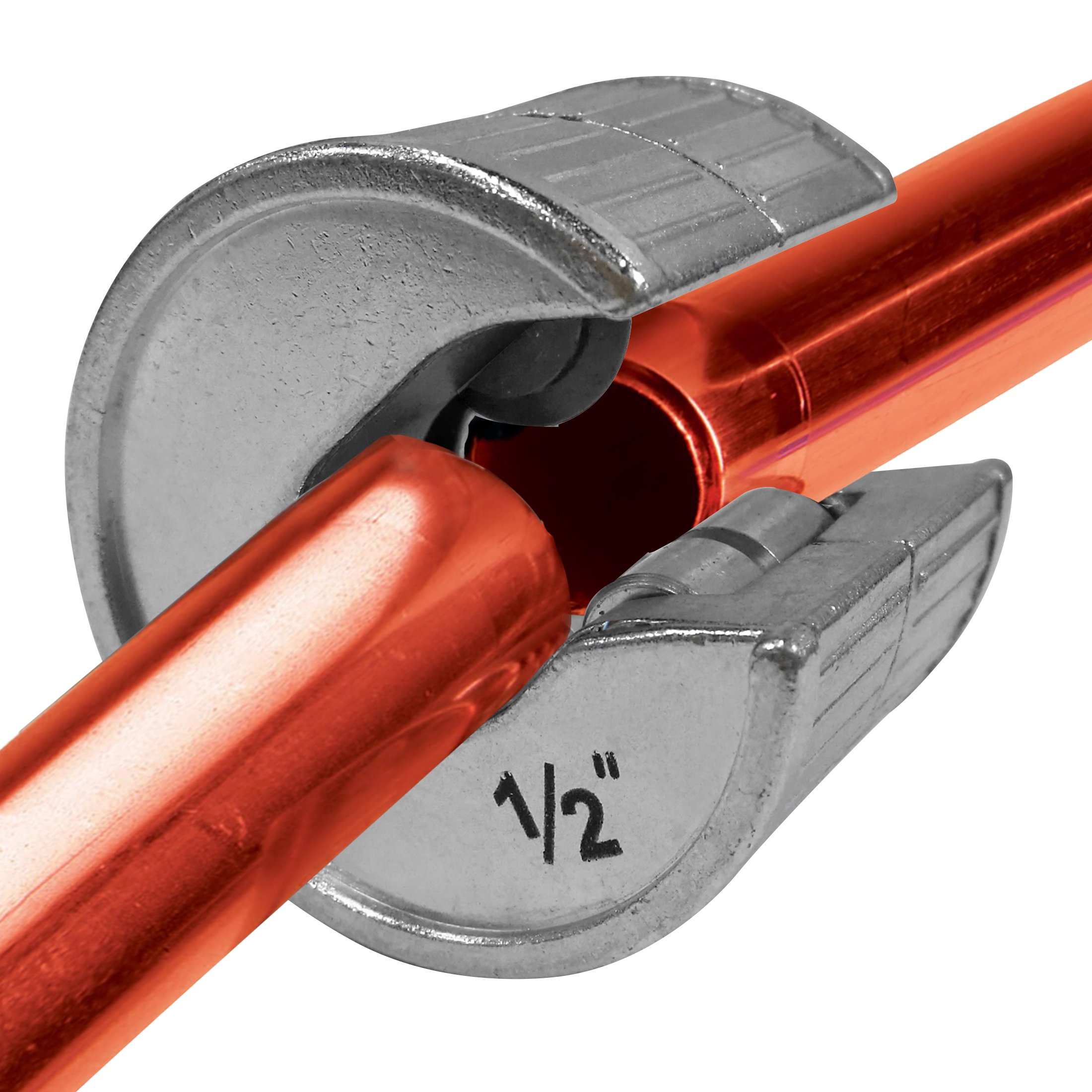 HAUTMEC Plumbing Auto Cut Tube Cutter 1/2'' for Copper Pipe 1/2'' PL0003