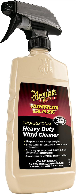 Meguiar's M3916 Mirror Glaze Heavy Duty Vinyl Cleaner, 16 Fluid Ounces