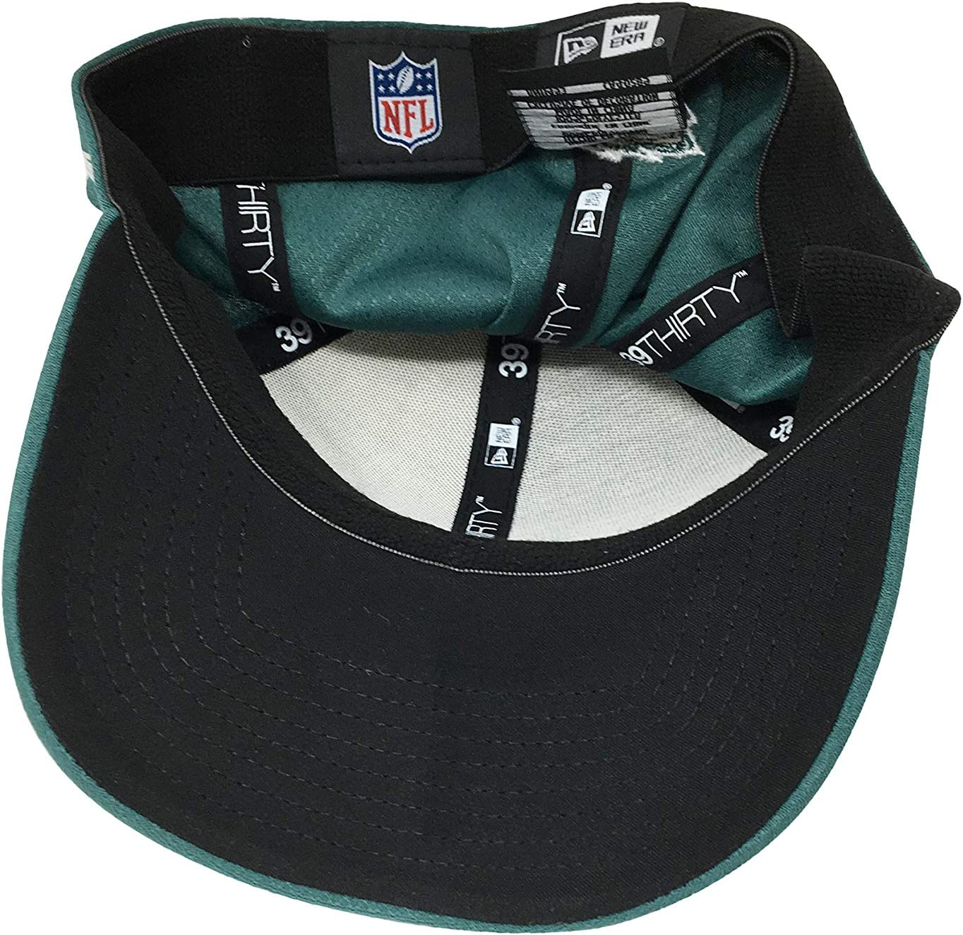 Black//Grey New Era Philadelphia Eagles 2018 NFL Sideline Official 39THIRTY Flex Hat