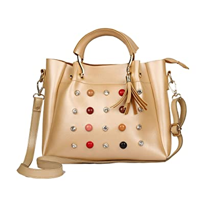 Roseberries women sling bags Gold Color  Amazon.in  Shoes   Handbags c2024c97305c2