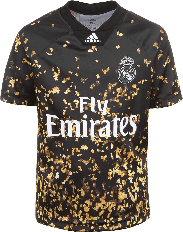 adidas Real Madrid EA Sports Cuarta Equipación 2019-2020 Niño, Camiseta, Black-White: Amazon.es: Deportes y aire libre