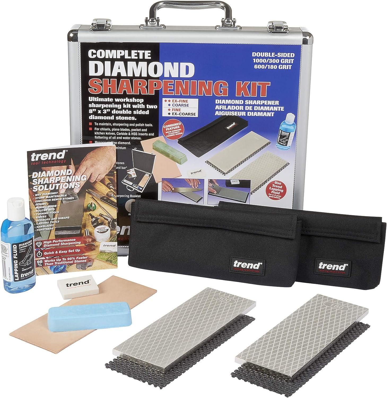 TREND DWS KIT Latest item E Complete Diamond 15 Sharpening Regular store Kit 1 x
