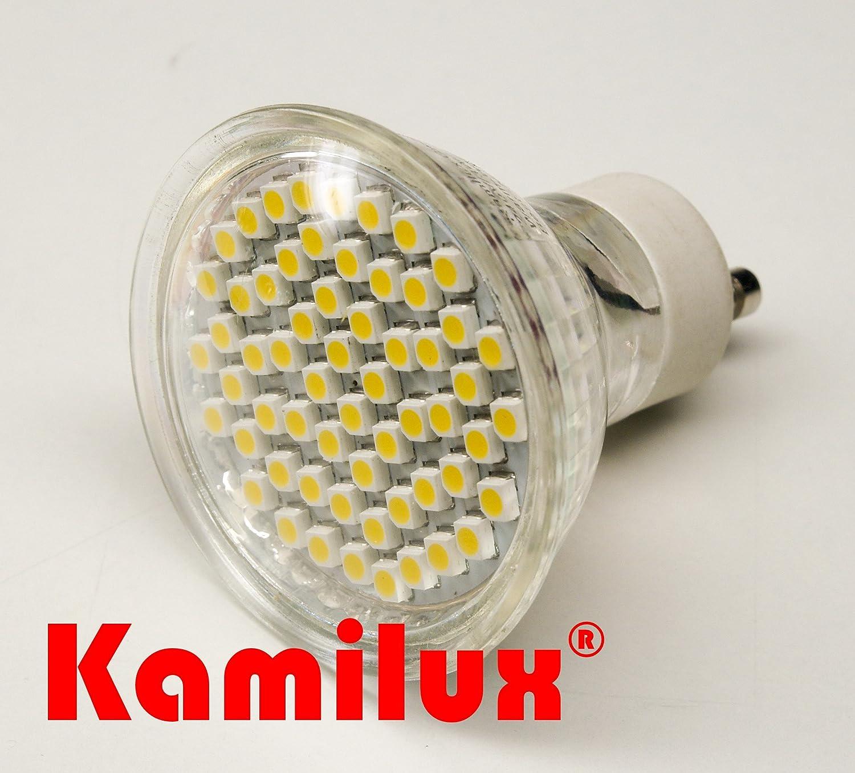 10x Halogen Leuchtmittel Birnen Lampen 35W GU10 Hochvolt 230Volt Kamilux®