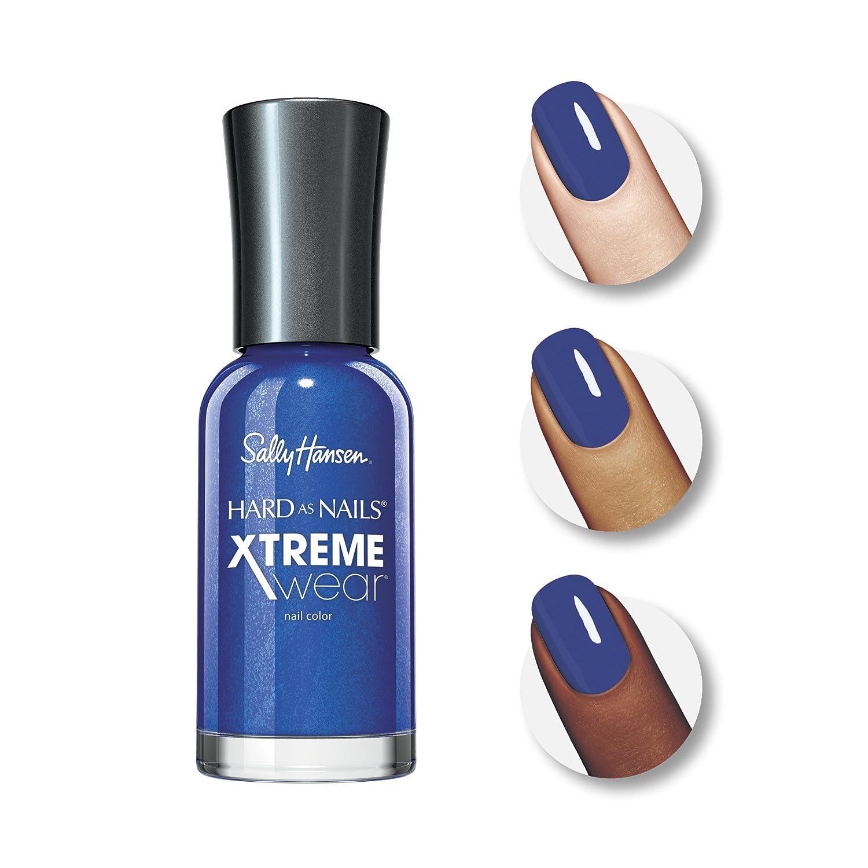 Amazon.com : Sally Hansen Hard as Nails Xtreme Wear, Pacific Blue ...
