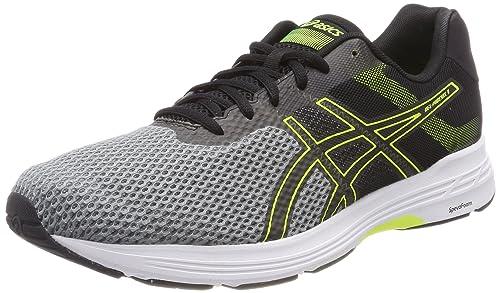 Gel-Phoenix 9, Zapatillas de Running para Hombre, Multicolor (Stone Grey/Black/Safety Yellow 1190), 42.5 EU Asics