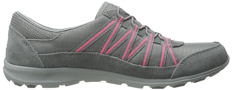 Skechers Sport Women's Dreamchaser Romantic Trail Skylark Fashion Sneaker B00VQMMG9Y 6.5 B(M) US|Gray/Pink
