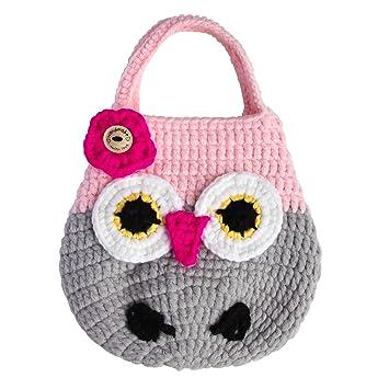 Amazon Mini Crochet Owl Purse For Little Toddler Kids Girls