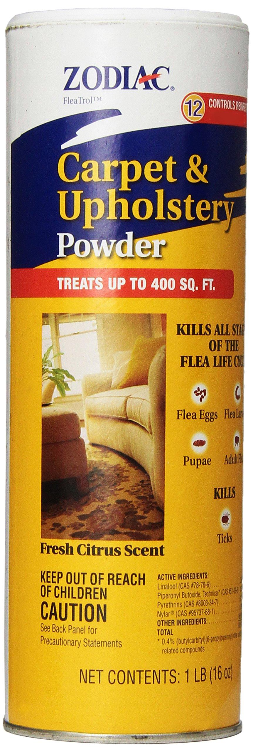 Zodiac Carpet & Upholstery Powder, 16-ounce by Zodiac