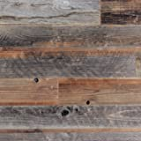 Amazon Com Stikwood Reclaimed Weathered Wood 40 Square
