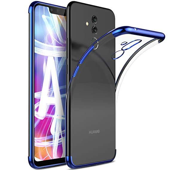 Huawei Mate 20 lite case, KuGi Huawei Mate 20 lite case, [Shock/Scratch Absorption Protection] Ultra-Thin Flexible Rubber Soft TPU Bumper Case for The ...