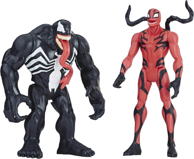 Amazon.com: Venom and Carnage figuras de acción, juguetes de ...