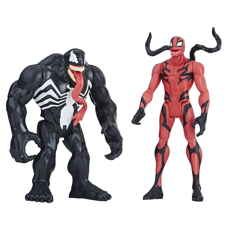 Marvel Venom Venom /& Carnage Figure 2-Pack Hasbro E2937