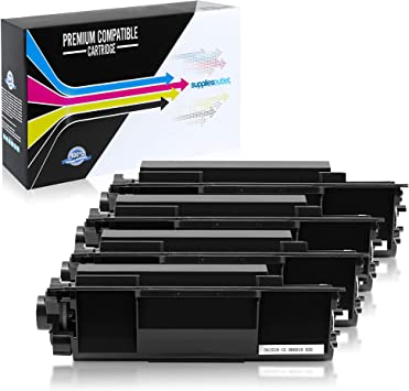 TN-850 Black,2 Pack SuppliesOutlet Compatible Toner Cartridge Replacement for Brother TN850