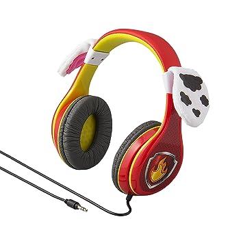 Ekids Pw 140ma Paw Patrol Marshall Headphones Red One Size