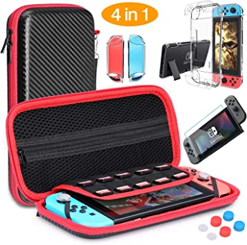 HEYSTOP Nintendo Switch Accesorio, Funda para Nintendo Switch + ...