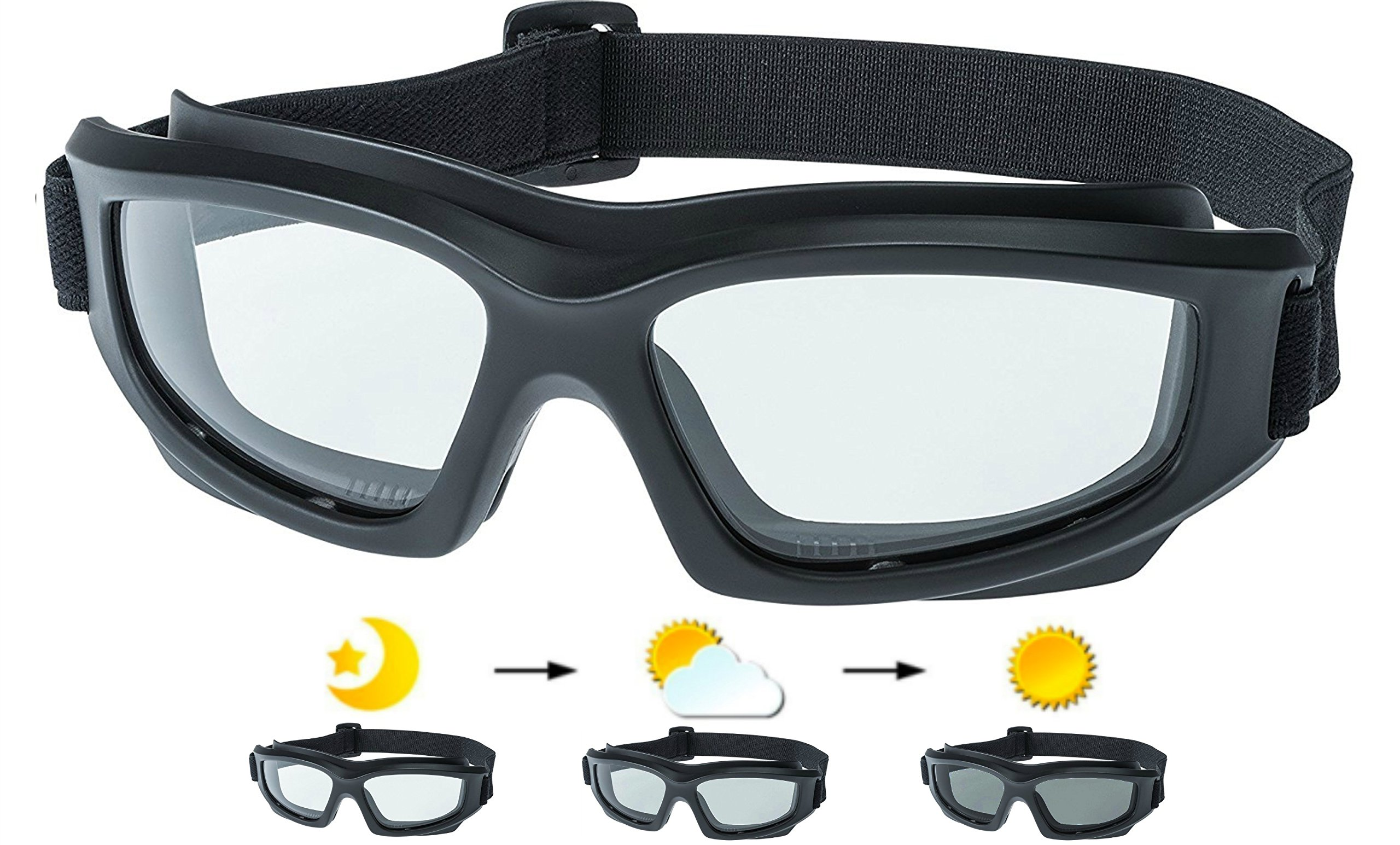 8aa7a63106 Galleon - Motorcycle Riding Goggles  Heavy-Duty Riding Goggles