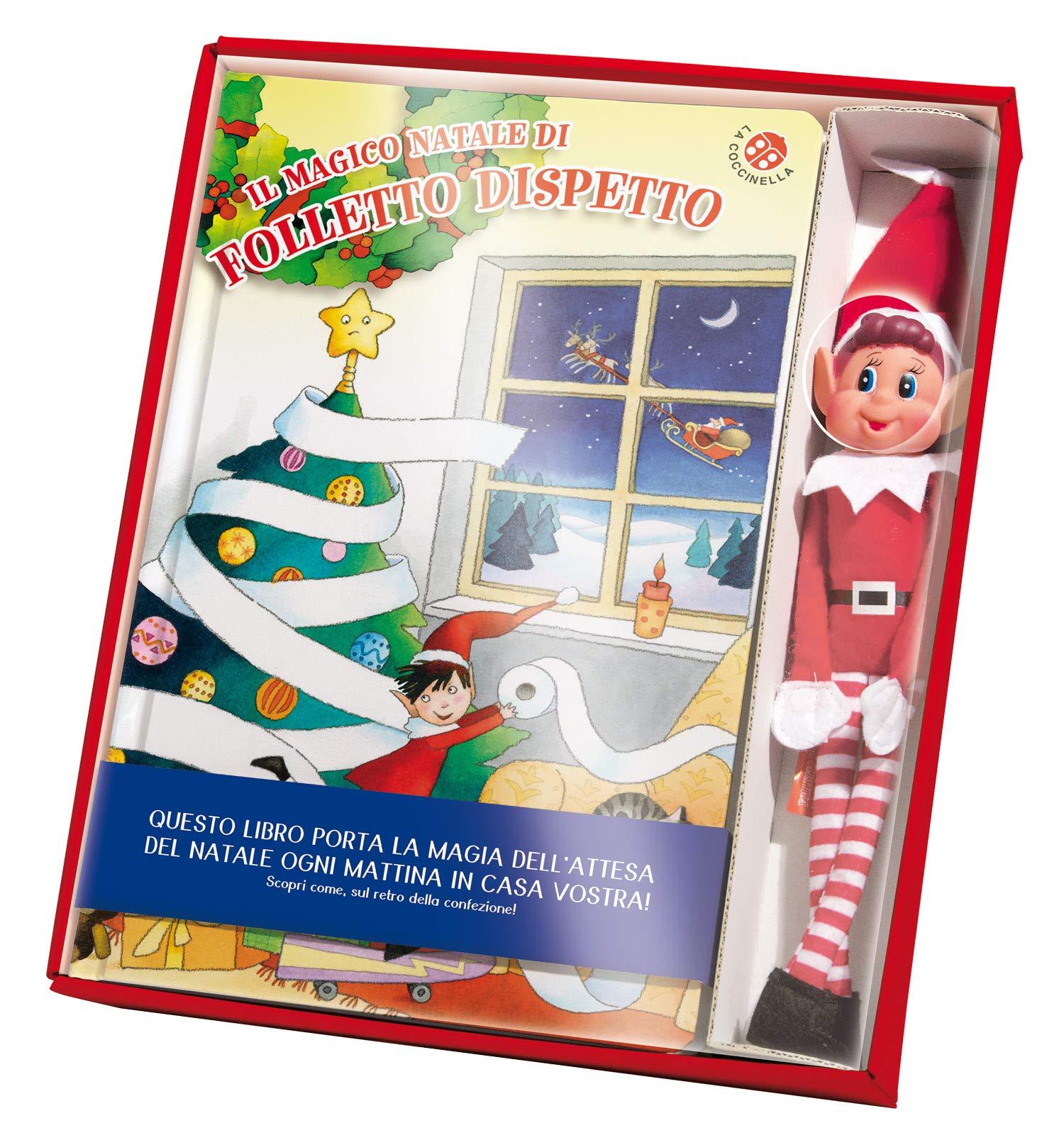 790b42077eb3f0 Amazon.it: Il magico natale di Folletto Dispetto. Con gadget - Giovanna  Mantegazza, C. Mesturini - Libri