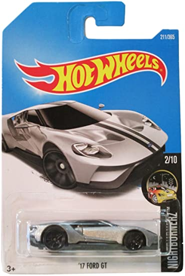 Amazon Com Hot Wheels  Ford Gt   Silver Toys Games