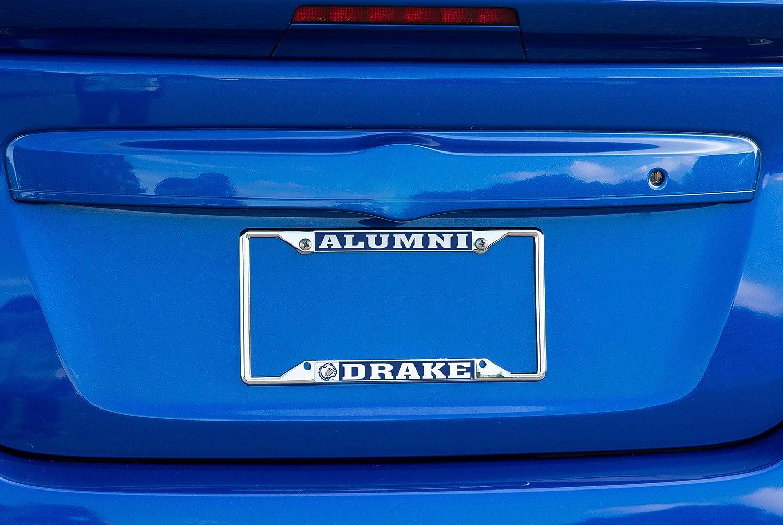 Alumni Desert Cactus Drake University Bulldogs NCAA Metal License Plate Frame for Front Back of Car Officially Licensed