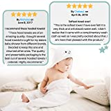 Organic Bamboo Baby Hooded Towel   Ultra Soft and
