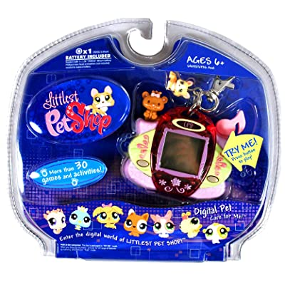 Hasbro Littlest Pet Shop Digital Care for Me - Corgi Dog: Toys & Games