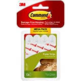 Command Poster Hanging Strips, 136 Total Strips (17024-136ES)