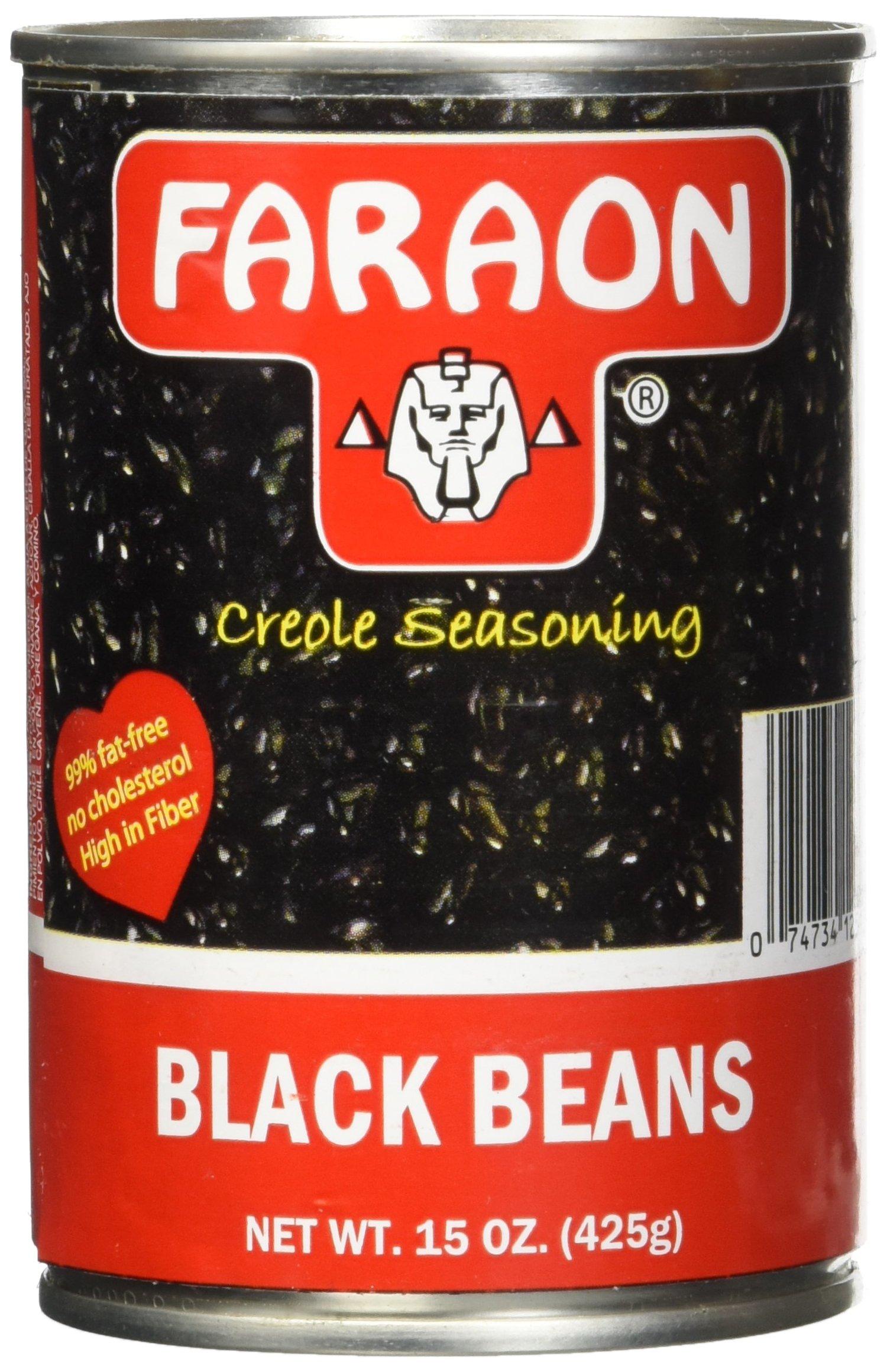 FARAON Blacks Seasoned, 15 Ounce (Pack of 12)