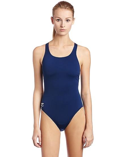 0281ff882f9 Amazon.com : Speedo Female One Piece Swimsuit - Endurance+ Solid ...