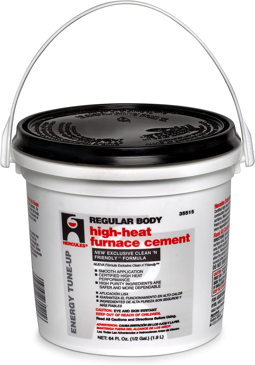 1//2 Gallon Furnace Cement For Fireplaces