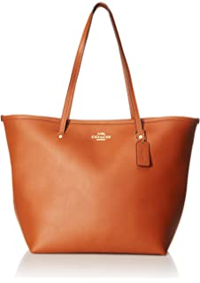 64acba76ab8f Amazon.com  Coach Pebble Leather Derby Tote F58660  Shoes