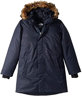 Amazon.com  The North Face Girl s Arctic Swirl Down Jacket  Clothing 374051aab6a8