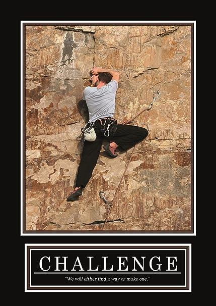 Cartel de desafío - Original - Barney Stinson cartel -7/13 ...