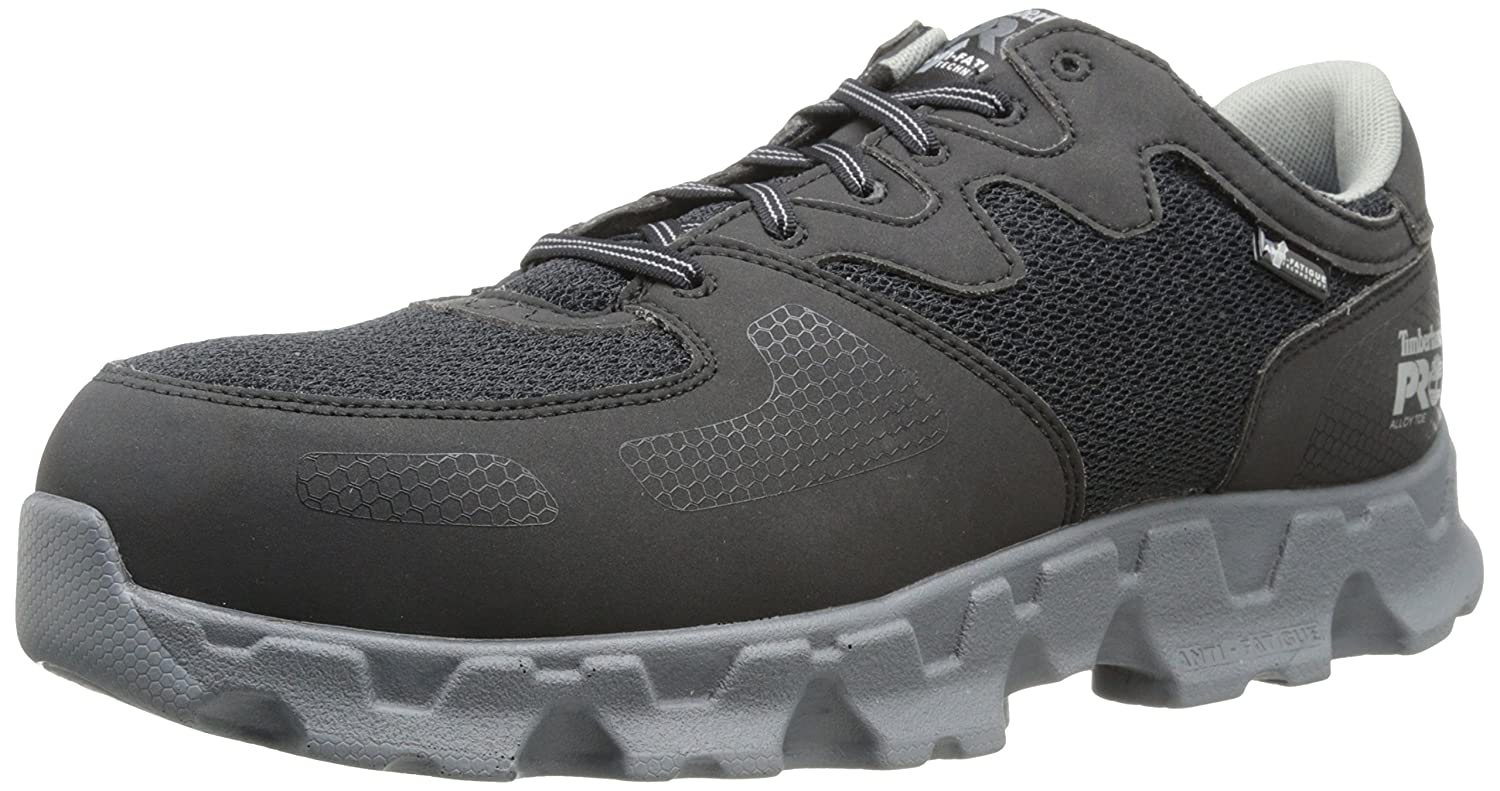 Timberland PRO メンズ Black/Grey Microfiber and Textile 10.5 2E US 10.5 2E USBlack/Grey Microfiber and Textile B00HNO1L1S