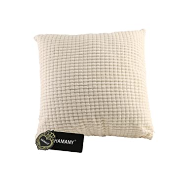 Amazon.com: HAMANY poliéster pana Square Throw decorativos ...