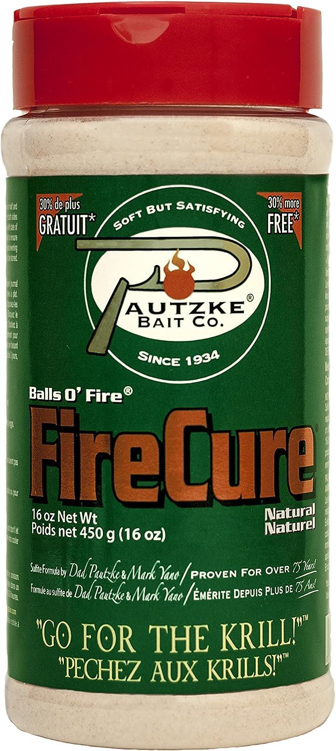 Pautzke Bait Roe Fire Cure Balls O Fire Eier rot, 28,5