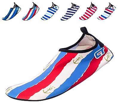 Kids Women Men Barefoot Quick-Dry Water Sports Shoes Skin Aqua Socks For Swim Beach Pool Surf Yoga