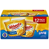 Velveeta Original Shells and Cheese Cups, (12 Count of 2.39 oz Cups) 28.6 oz