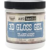 Prima Marketing Art Basics 3D Gloss Gel, 8-Ounce, Transparent