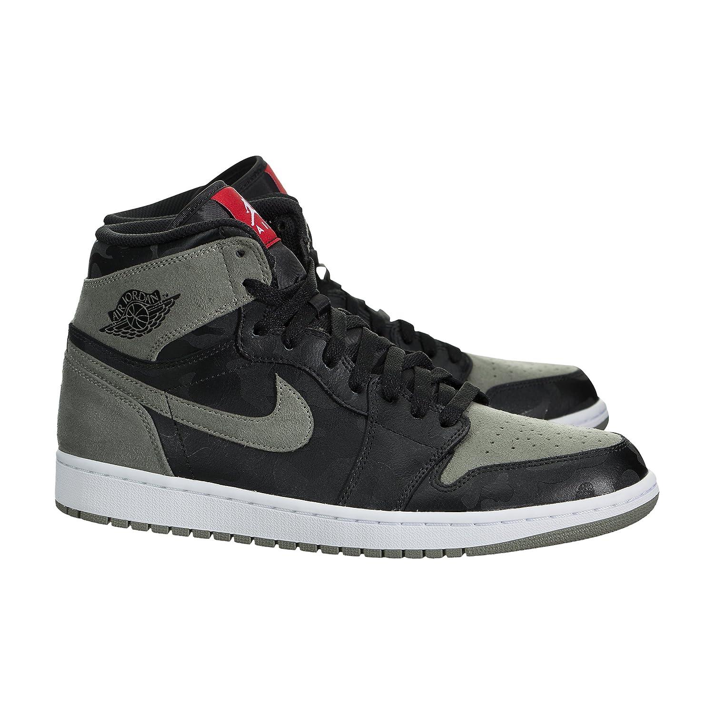 sale retailer 09e5e 0a2b4 Amazon.com   Jordan Men s Air 1 Retro High Premium (10)   Fashion Sneakers