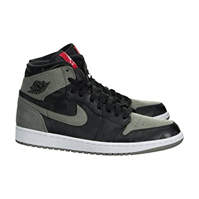 238a225085b15 Jordan Air 1 Retro Men's High Premium Black AA3993-034 (Size: 13)