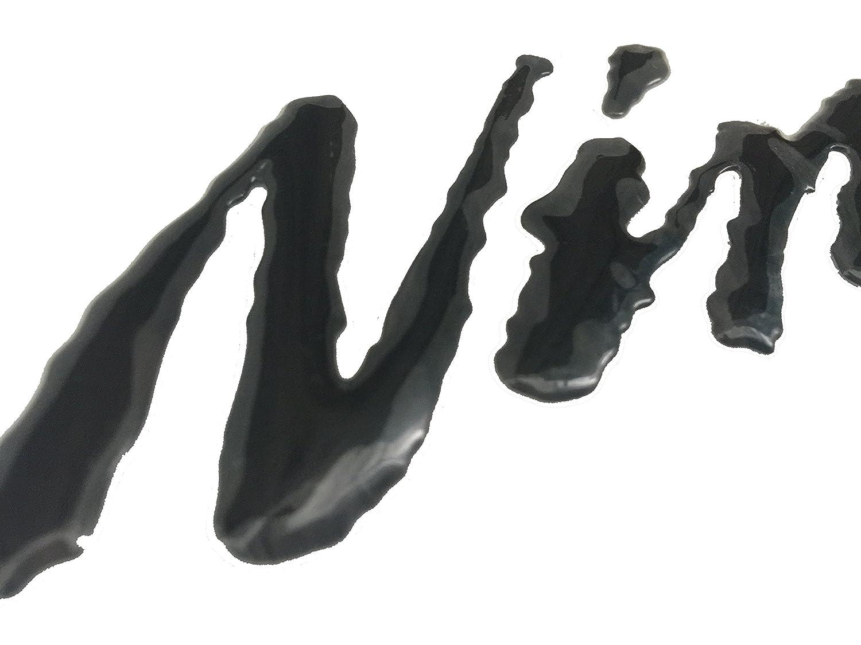 Decal Story 3D Emblem Sticker Decal Black Raise Up Polish Gloss for Kawasaki Ninja