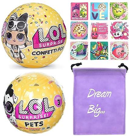 Amazon Com Lol Surprise Dolls Gift Bundle Includes 1 L O L