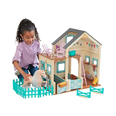KidKraft Sweet Meadow Horse Stable: Toys & Games