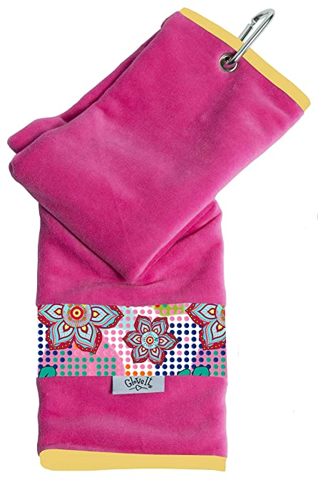 Glove It Womens Sport Towel Small Microfiber Workout Towels - Gym Towels for Women - Ladies Athletic Sports Towel - Absorbs Sweat Fast - Terry Micro ...