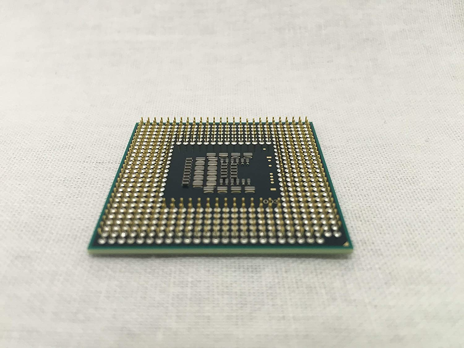 SLAYQ INTEL CORE DUO T8300 2.4GHZ CPU LAPTOP SOCKET P with thermal paste